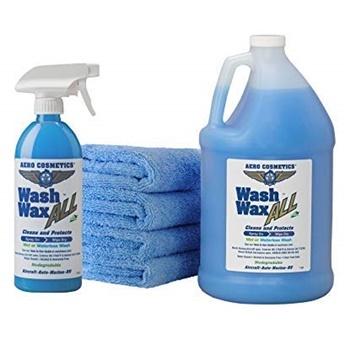 Aero Wet or Waterless Car Wash Wax Kit