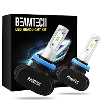 BEAMTECH H11 LED Headlight Bulb Conversion Kit