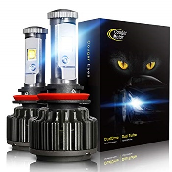 Cougar Motor LED Headlight Bulbs All-in-One Conversion Kit