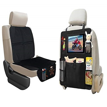 Lebogner Car Seat Protector + Backseat Organizer
