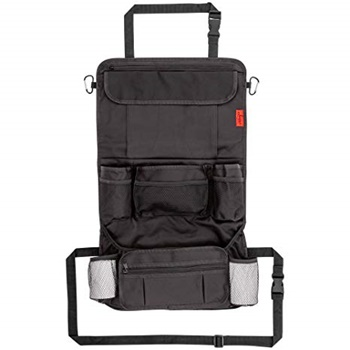 Lusso Gear Car Back Seat Organizer with Larger Protection