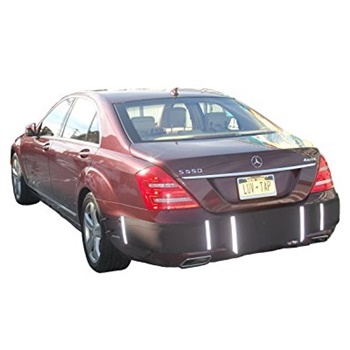 Luv-Tap BG001 - Complete Coverage Universal Fit Rear Bumper Guard