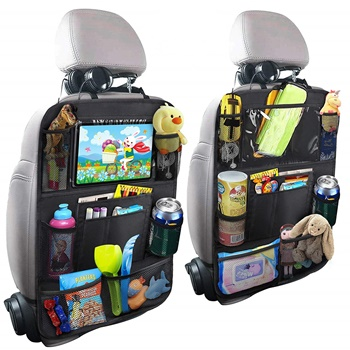 MZTDYTL Car Backseat Organizer with Touch Screen – 2 Pack
