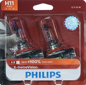 Philips X-tremeVision Upgrade Halogen Headlight Bulb