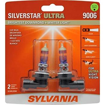 SYLVANIA SilverStar Ultra-High-Performance Halogen Headlight Bulb
