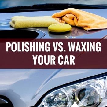 Waxing vs. Polishing