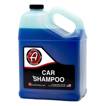 Adam's Car Wash Shampoo -pH Neutral Soap - 1 gallon