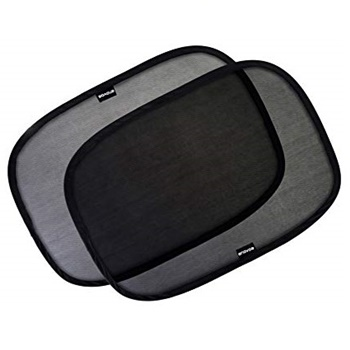 Enovoe Car Window Shade - (4 Pack) - Cling Sunshade