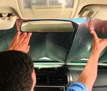 How to Install Windshield Sun Shades