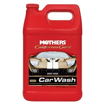 Mothers 05602 California Gold Car Wash - 1 Gallon