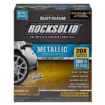 Rust-Oleum 299744 RockSolid Metallic Garage Floor Coating