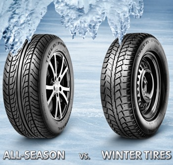All-season vs. Summer vs. Winter Tires – What makes the difference