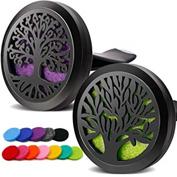 RoyAroma 2PCS Tree of Life Diffuser Aromatherapy Essential Oil