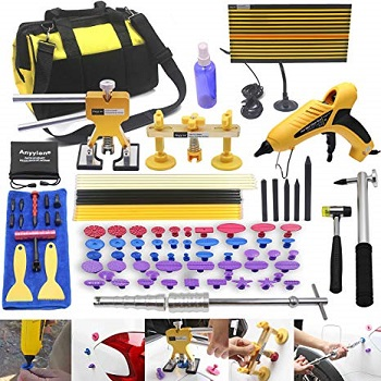 Anyyion 92pcs Car Body Paintless Dent Repair Removal Tools