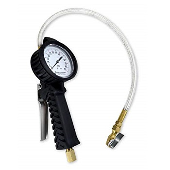 Astro 3082 TPMS Dial Tire Inflator with Stainless Hose