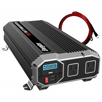 Energizer 1500 Watt 12V Power Inverter with 2 USB Ports