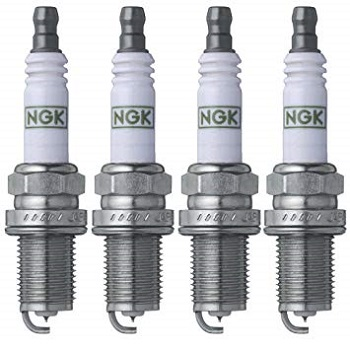 NGK 7090 BKR5EGP G-Power Spark Plug, Pack of 4