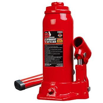 Torin Big Red Hydraulic Bottle Jack, 6 Ton