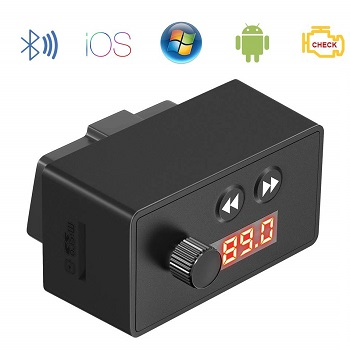 Beswill OBD2 Scanner Bluetooth and Music Player