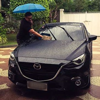 Washing Your Car After the Rain