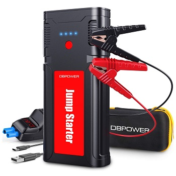 DBPOWER Jump Starter 2500A 21800mAh