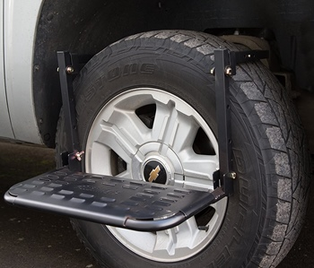 How to Mount a Tailgate Ladder for Pickup Truck