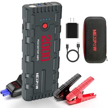 NEXPOW 2000A 18000mAh Car Jump Starter with USB