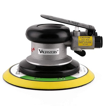 "Valianto 6"" Professional Air Random Orbital Palm Sander"