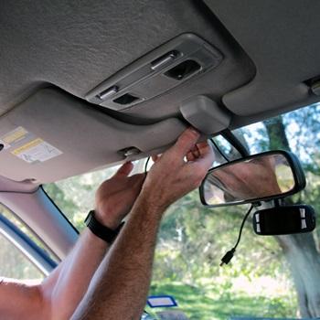 How to Install a Mirror Dash Cam